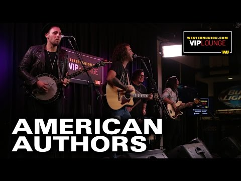 "American Authors Perform ""I'm Born To Run"" & Best Day Of My Life"" Live"