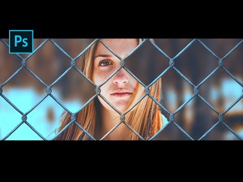 How to Create Fence Photo Effect | Photoshop Tutorial thumbnail