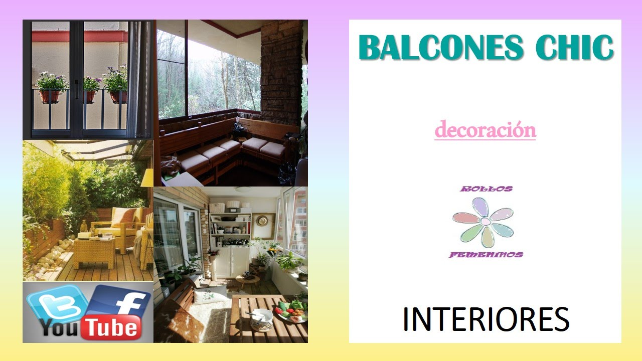Balcones cerrados decoraci n 2parte rf youtube - Balcones cerrados ...