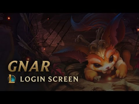 Gnar, the Missing Link | Login Screen - League of Legends