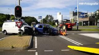 Gewonde bij ongeval op kruising N377 bij De Lichtmis