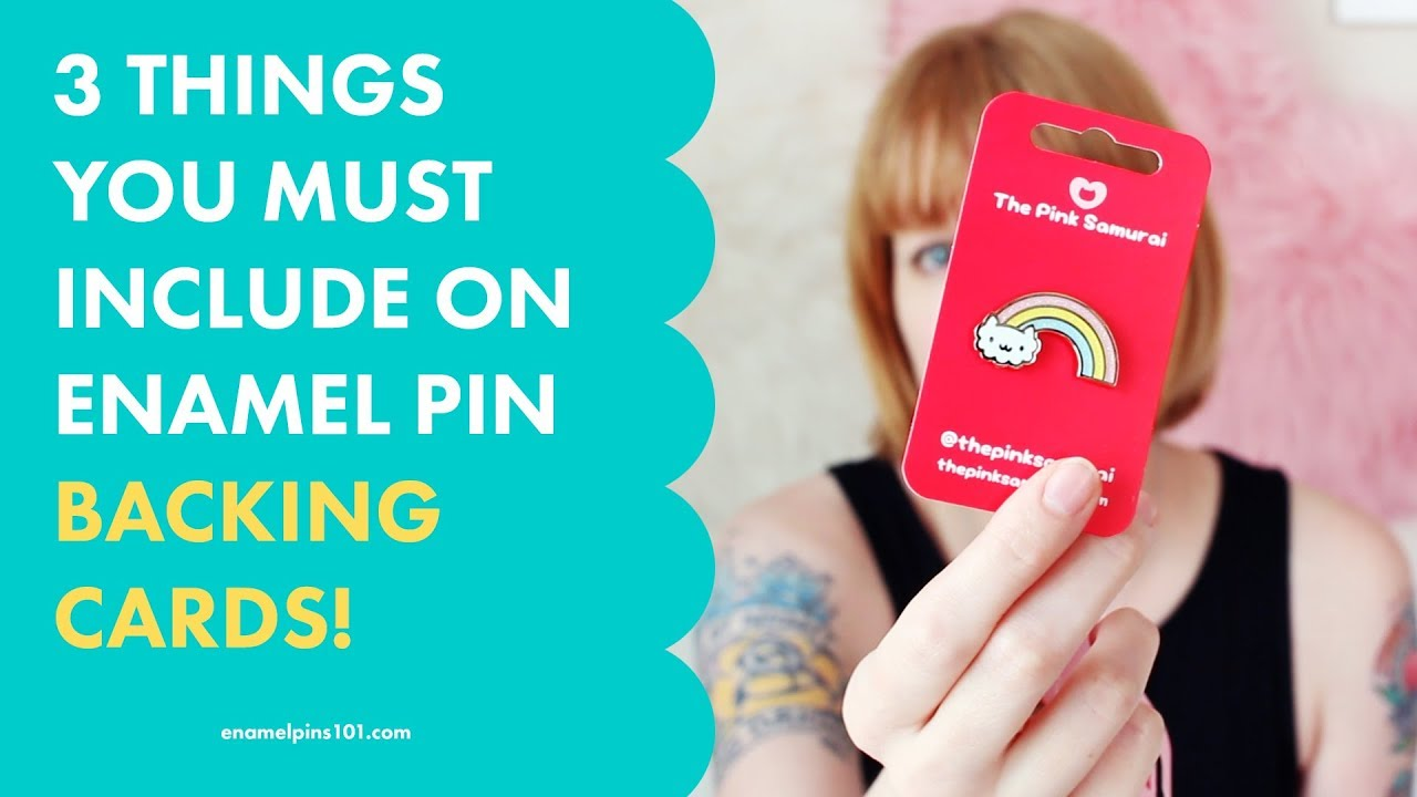 3 Things You Must Include When You Make Enamel Pin Backing Cards