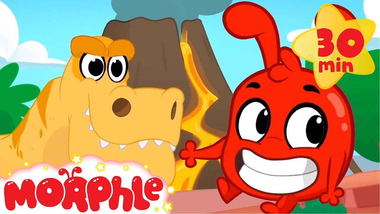 Morphles Time Machine - My Magic Pet Morphle | Cartoons For Kids | Morphle TV | Mila and Morphle