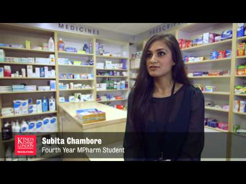 Introducing The Department Of Pharmacy And The MPharm Degree Programme At King's College London