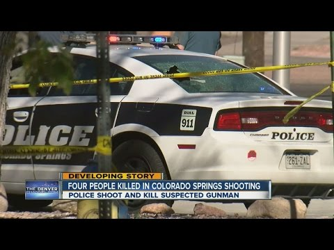 4 people killed in Colorado Springs shooting