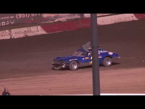 Perris Auto Speedway Factory Stock a Main Event Highlights 6-15 -9