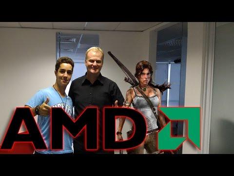 Visitando a AMD! - Hardware, Futuro e Potencia!!