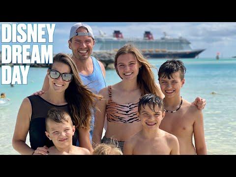 DREAM FINISH TO A DREAM CARIBBEAN CRUISE ON DISNEY DREAM   CASTAWAY CAY DISNEY CRUISE PRIVATE ISLAND