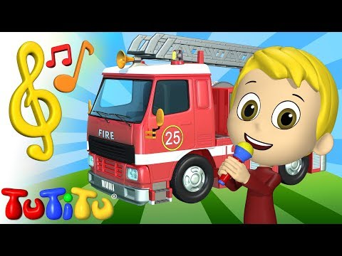 FireTruck Song | Karaoke | TuTiTu Toys and Songs for Children