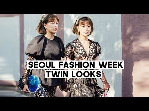 Seoul Fashion Week 2020: TWIN LOOKS (KPOP A.C.E In Front Of Us😱) | Q2HAN
