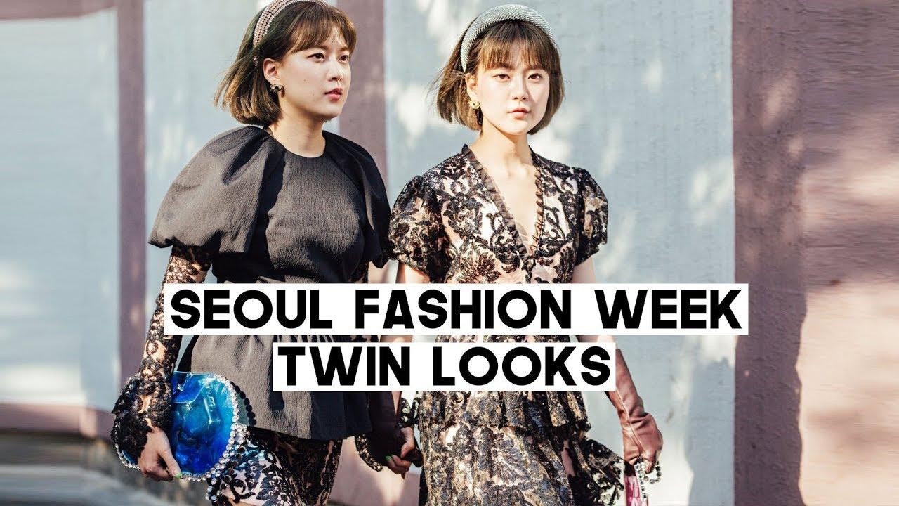 Kpop Fashion 2020.Seoul Fashion Week 2020 Twin Looks Kpop A C E In Front Of Us Q2han