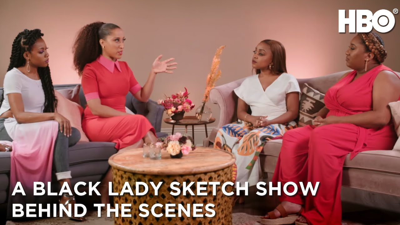Download A Black Lady Sketch Show: Meet Robin Thede and the Core Cast   HBO