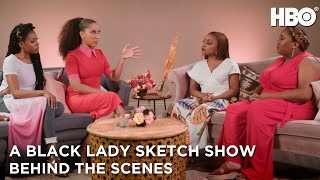 A Black Lady Sketch Show | Meet Robin Thede and the Core Cast | HBO