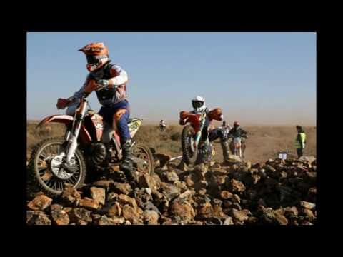 First lap of the Holfontein 100 enduro event
