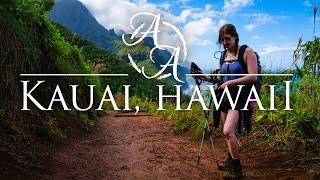 The Hidden Beauty oḟ Hawaii's Garden Island | Best Hiking on Kauai, Hawaii in 4K