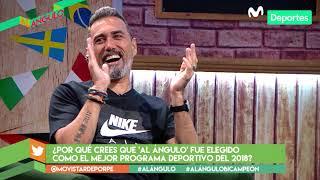 Al Ángulo: saludos de futbolistas a los panelistas del programa