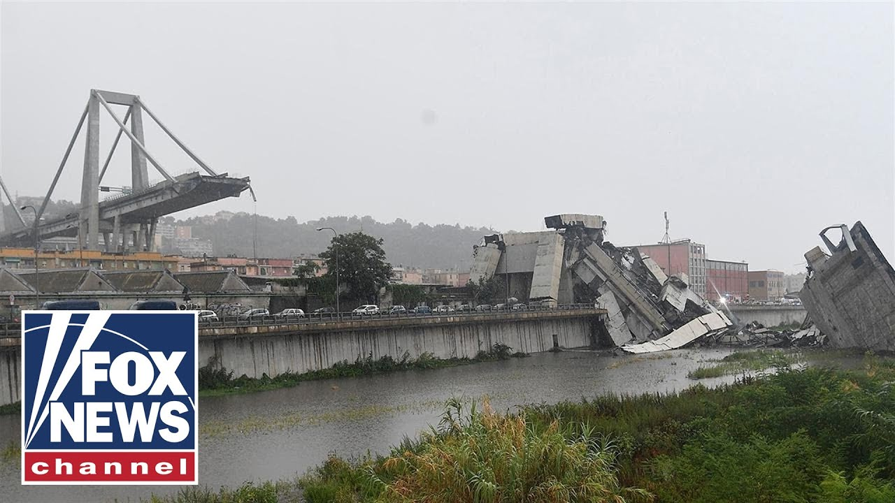 Deadly Genoa Italy Bridge Collapse Caught On Tape: Recent Death Toll At 39