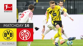 Reus misses the win | Borussia Dortmund - Mainz 05 | 1-1 | All Goals | Matchday 16