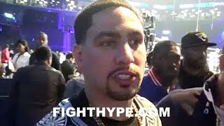"""DANNY GARCIA REACTS TO ADRIEN BRONER AND JESSIE VARGAS FIGHTING TO A DRAW: """"AIN"""