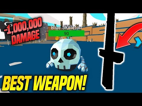 I GOT THE BEST WEAPON IN MONSTER HUNTER SIMULATOR!! *1 MILLION DAMAGE* (Roblox)