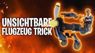 DER UNSICHTBARE FLUGZEUG TRICK! ✈️   Fortnite: Battle Royale