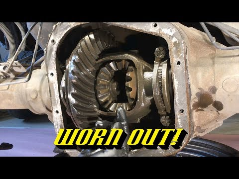 ford-vehicle-noises-#7:-rear-axle-howl-due-to-a-worn-ring-and-pinion