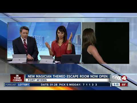 Fortmyers  Persomn Escape Room