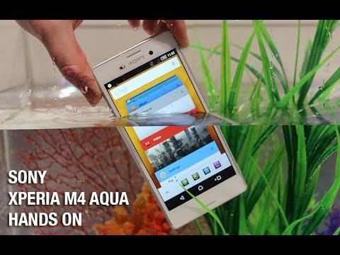 Sony Xperia M4 Aqua hands on