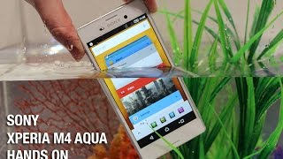 Sony Xperia M4 Aqua hands on