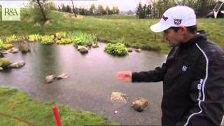 Pádraig Harrington Talks the Rules of Water Hazards