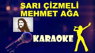Barış Manço -Sarı Çizmeli Mehmet Ağa- Karaoke - Full HD