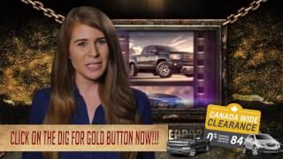Revenberg GM Treasure Hunt Canada Wide Clearance Promotions
