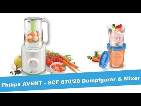 philips-avent-scf870/20---dampfgarer-&-mixer---unboxing-&-test---jetlonestarr
