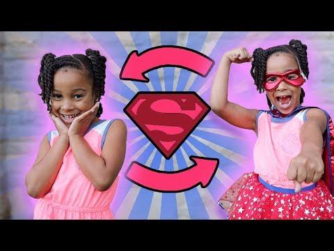 Cali Transforms into Super Hero!