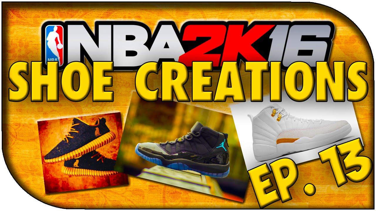 7831f73f82fb5f NBA 2K16 Shoe Creations - EP. 13 - Jordan 12 OVO