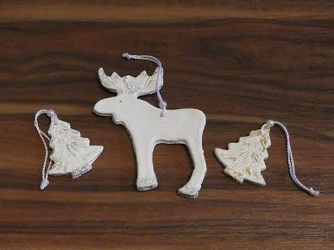 Diy weihnachtsdeko aus salzteig christmas decoration made of salt dough youtube - Salzteig weihnachtsdeko ...
