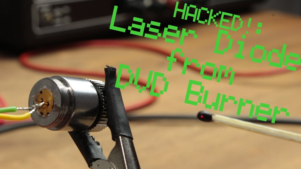 hight resolution of laser diode from dvd burner constant current source