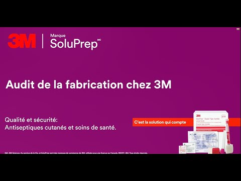 Audit de la fabrication chez 3M