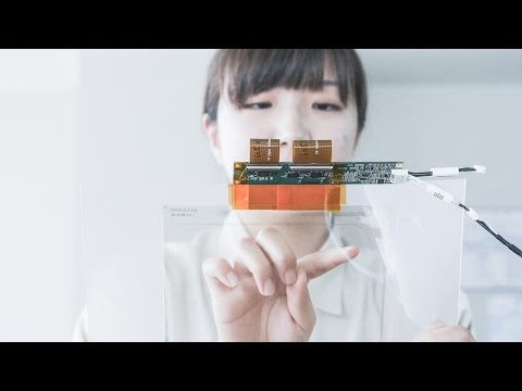 Flexible touch panel sensor using SuPR-NaP Printing