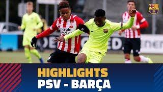 [HIGHLIGHTS] YOUTH LEAGUE: PSV 1-1 FC Barcelona