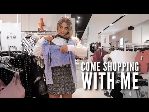 Come Shopping With Me  | Fashion Influx