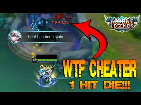 WTF!!! Cheat 1 Hit Die in Mobile Legends