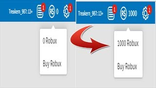 HOW TO HAVE ROBUX FREE IN ROBLOX (NEW METHOD) 2018 DECEMBER WORKING