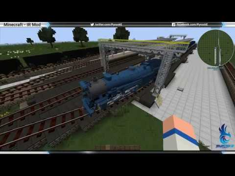 Minecraft - Immersive Railroading How To Automate Trains?