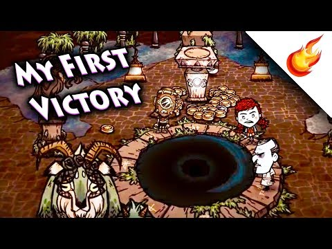 MY FIRST TIME 😱 Winning THE GORGE - Don't Starve Together #carried