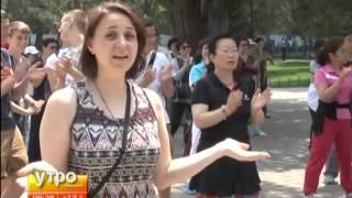 Храм Неба Тянь Тань(Как известно, нынешний год объявлен годом российского туризма в Китае. Для 160-ти журналистов из разных..., 2013-06-13T00:18:29.000Z)