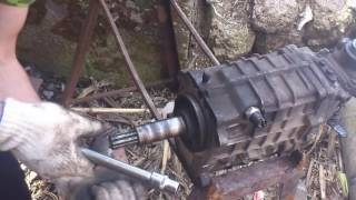Ремонт ГАЗ 24 V8 Первичный подшипник рассыпался