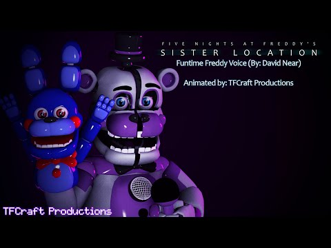 [SFM] FNAF:SL - Funtime Freddy Voice (By: David Near)