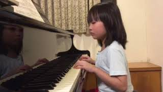 海蒂與爺爺_劉千瑜彈鋼琴進步了20170824