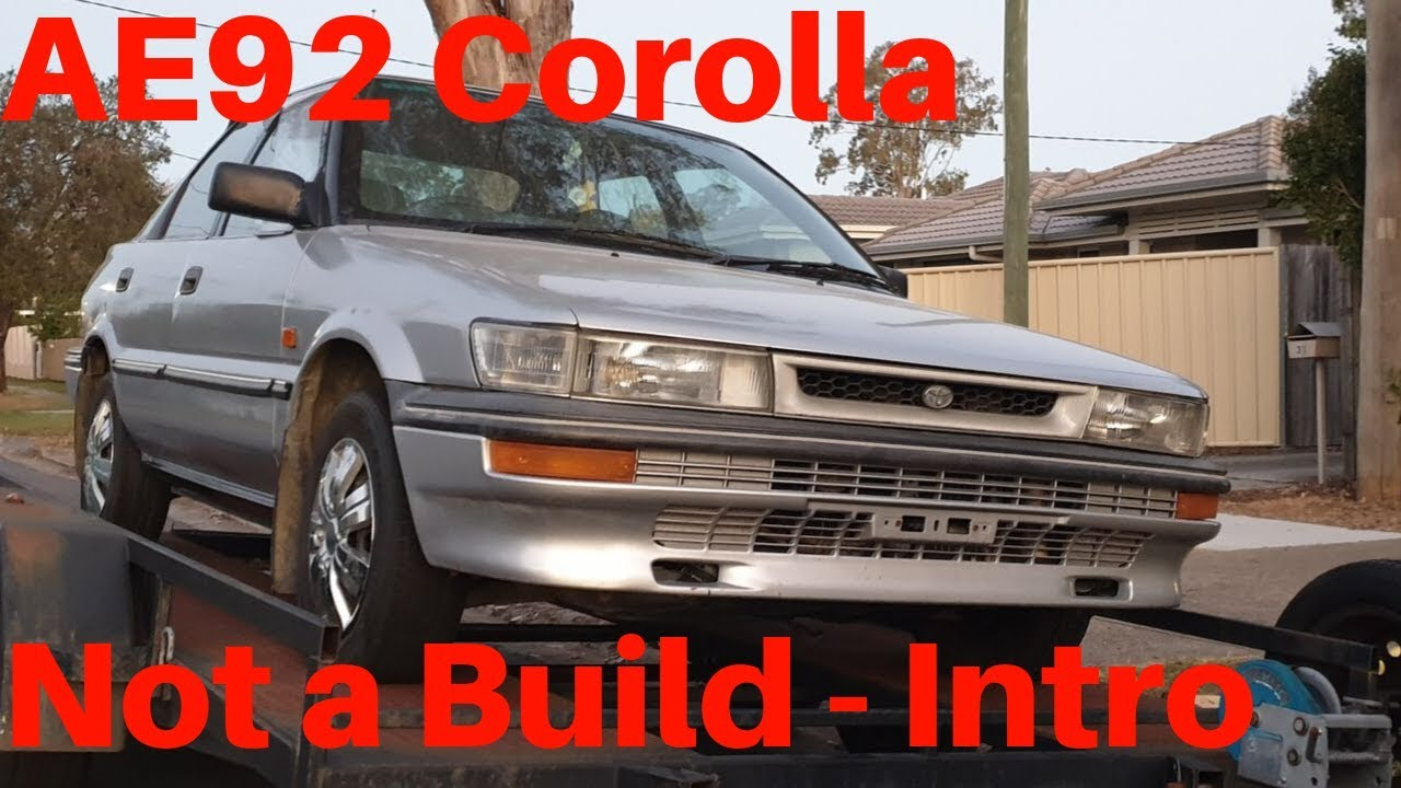 ae92 corolla seca liftback notabuild intro walk around youtube ae92 corolla seca liftback notabuild intro walk around